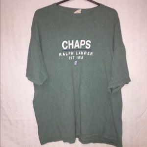 Chaps Ralph Lauren green T-shirt XL